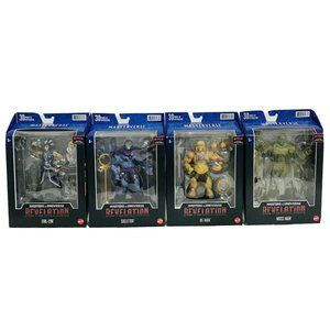 Masters of the Universe Masterverse Set of Four Sk